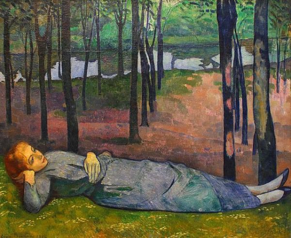Emile Bernard 'Madeleine au Bois d'Amour' (1888)