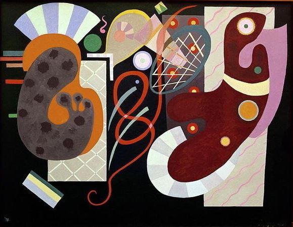 Kandinsky 'Red Knot' (1936)