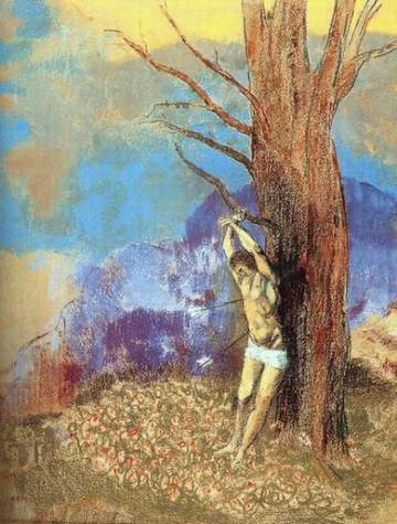 Odilon Redon 'Saint Sébastien' (c.1910)