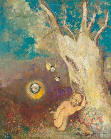 Odilon Redon 'Sommeil de Caliban' (c.1912)