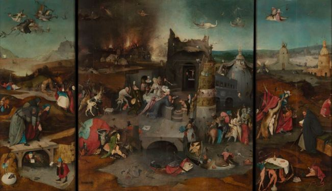 Bosch 'The Temptations of St. Anthony' (c.1500 - 05)