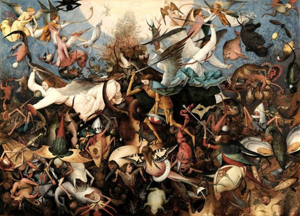 Bruegel 'The Fall of the Rebel Angels' (1562)