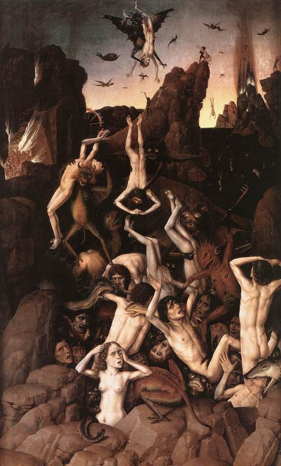 Dirk Bouts 'The Fall of the Damned' (c.1450)