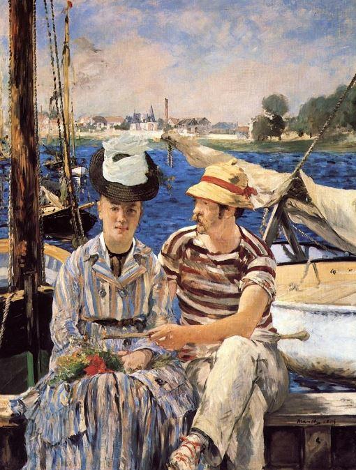 Edouard Manet 'Argenteuil' (1874)