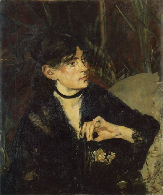 Edouard Manet 'Bethe Morisot with a Fan (1874)