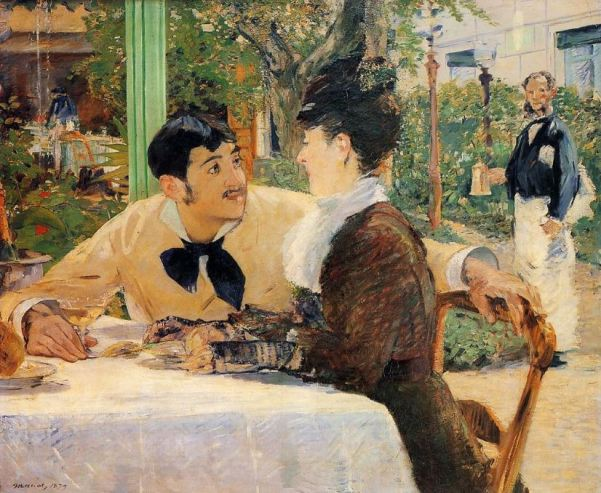 Edouard Manet 'The Pere Lathuille Restaurant' (1879)