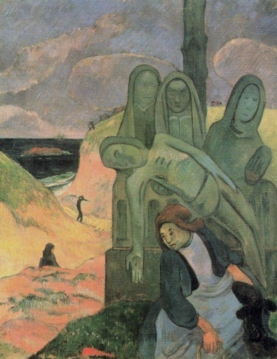 Gauguin 'Breton Calvary' (1889)