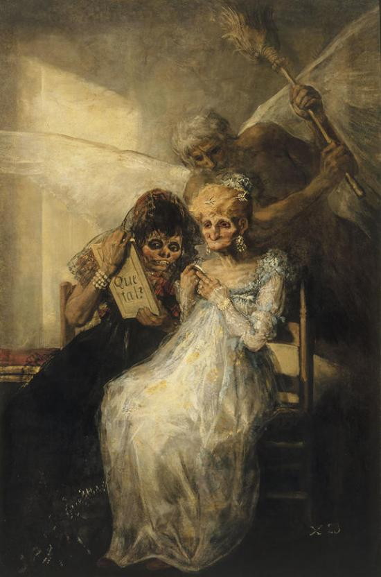 Goya 'Time of the Old Women' (c.1808 - 12)