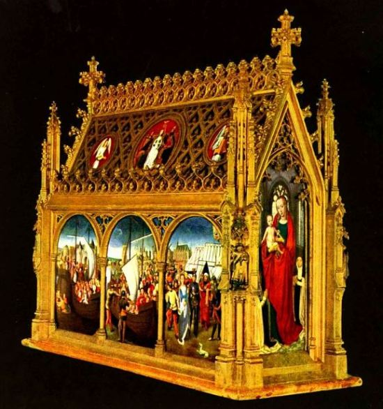 Hans Memling 'The Shrine of St. Ursula' (c.1489)