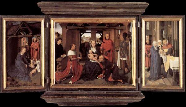 Hans Memling 'Triptych of Jan Floreins' (1479)