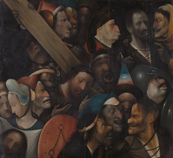 Hieronymus Bosch 'Christ Carrying the Cross' (c.1510)