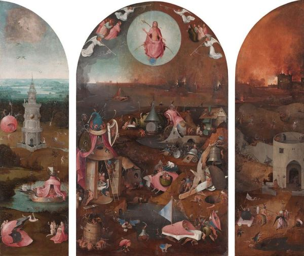 Hieronymus Bosch 'The Last Judgement' (c.1500)