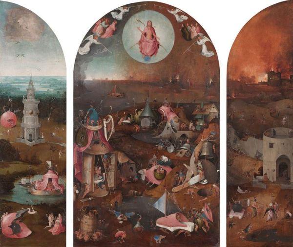 Hieronymus Bosch 'The Last Judgement' (c.1500)