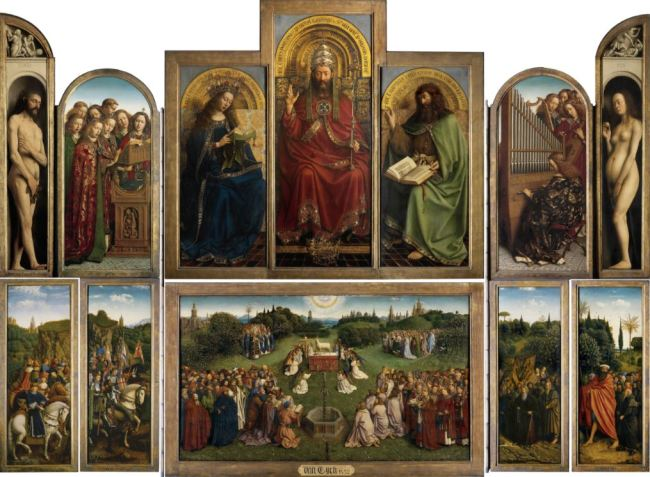 Jan van Eyck 'Ghent Altarpiece' (completed 1432)