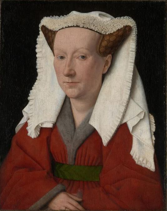 Jan van Eyck 'Portrait of a Margaret van Eyck' (1439)