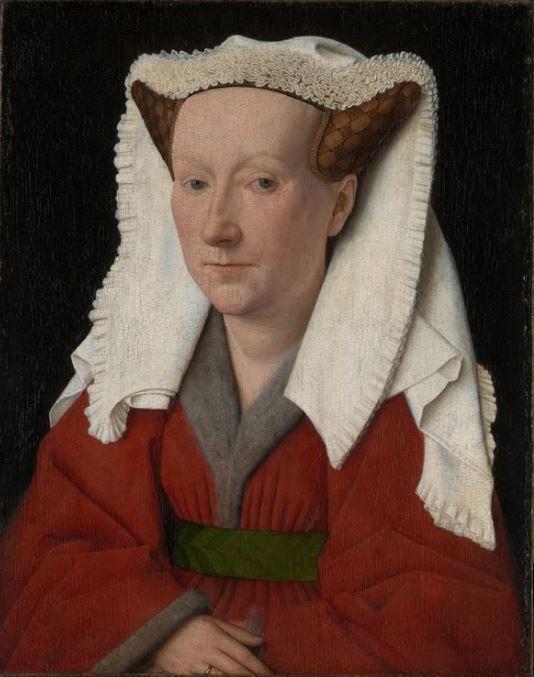 Jan van Eyck 'Portrait of a Margaret van Eyck' (1439)