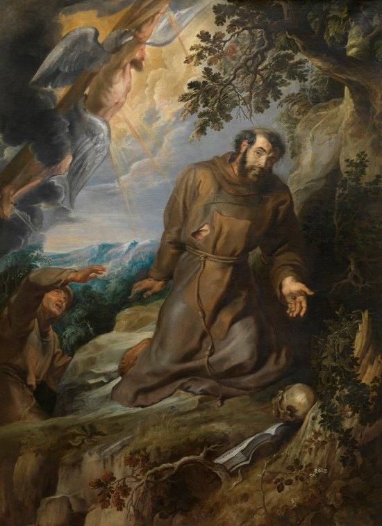 Peter Paul Rubens 'St. Francis receiving the Stigmata' (c.1633)
