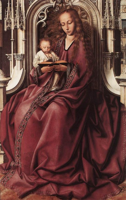 Quentin Matsys 'Madonna Enthroned' (c.1495)