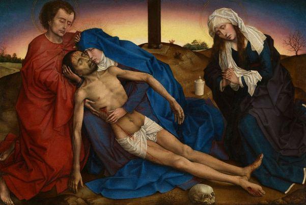 Rogier van der Weyden 'La Pieta' (c.1441)