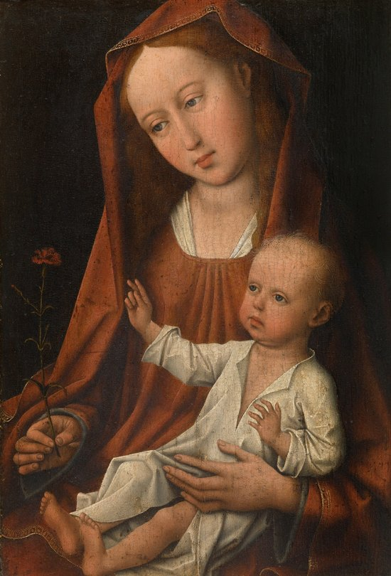 Rogier van der Weyden 'Virgin with the Carnation' (c.1480)