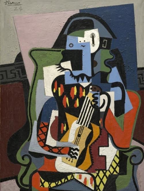 Picasso 'Harlequin Musician' (1924)
