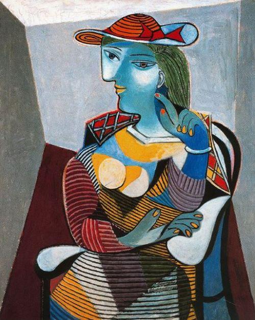 Picasso 'Portrait of Marie-Thérèse' (1937)