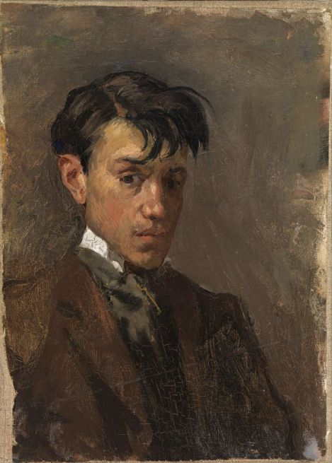 Picasso 'Self-Portrait' (1896)