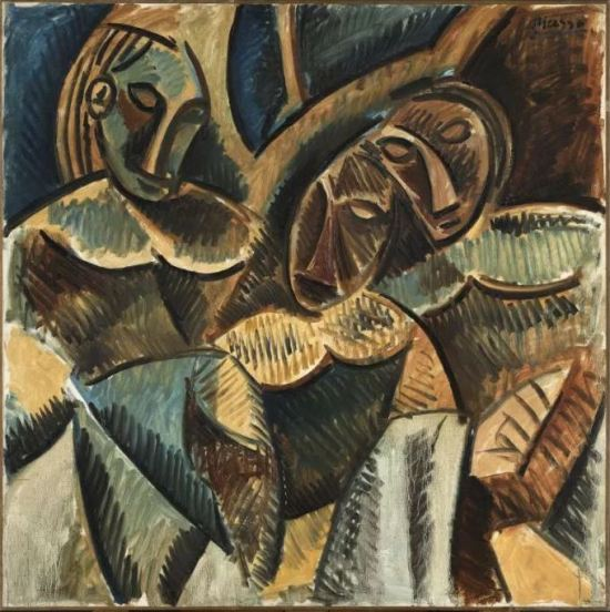 Picasso 'Three Figures under a Tree' (1907 - 08)
