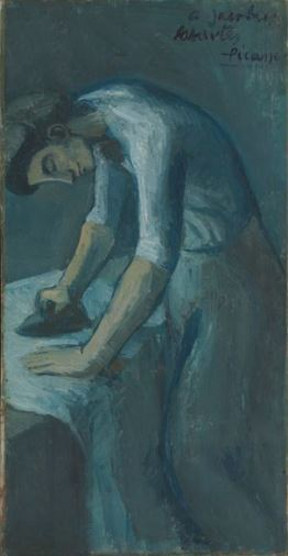 Picasso 'Woman Ironing' (1901)