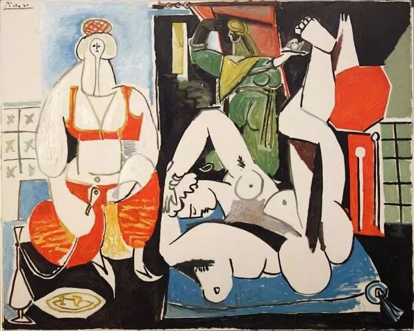 Picasso 'Women of Algiers, after Delacroix' (version H, 1955)