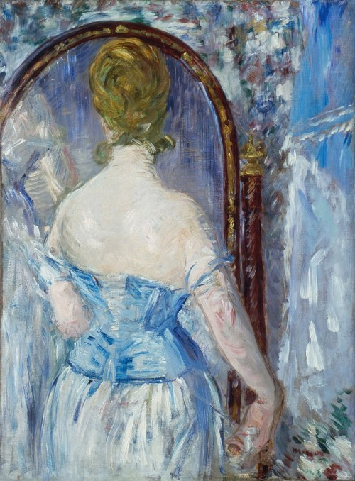 Edouard Manet 'Before the Mirror' (1876)