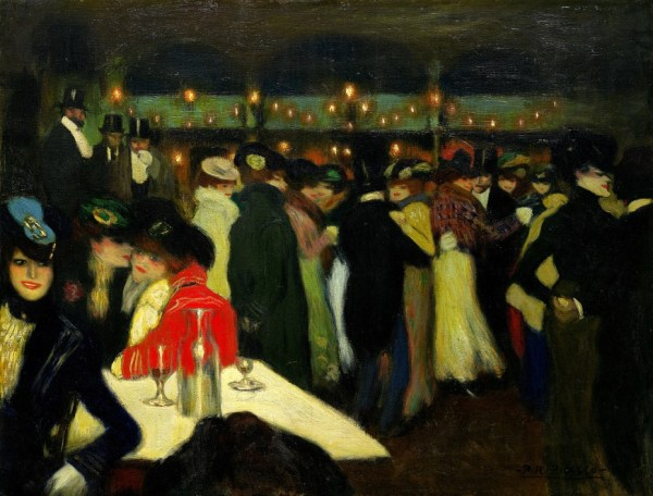 Pablo Picasso 'Le Moulin de la Galette' (1900)