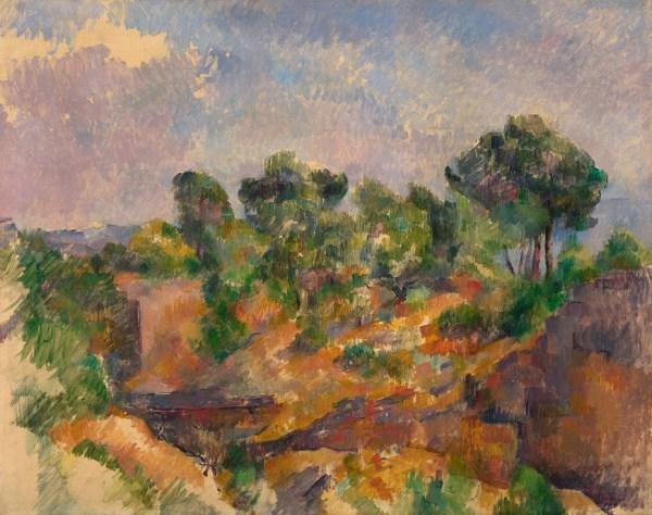 Paul Cezanne 'Bibemus' (1894 - 95)