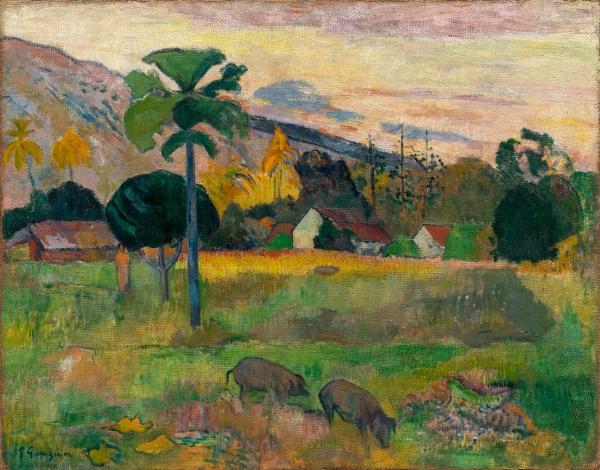 Paul Gauguin 'Haere Mai' (1891)