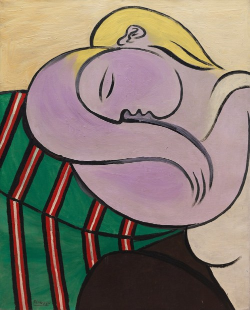Picasso 'Woman with Yellow Hair' (1931)