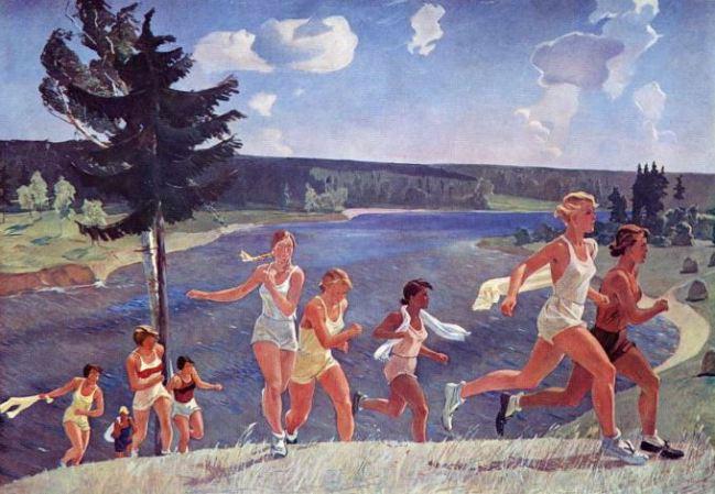 Alexander Deineka 'Freedom' (1944)