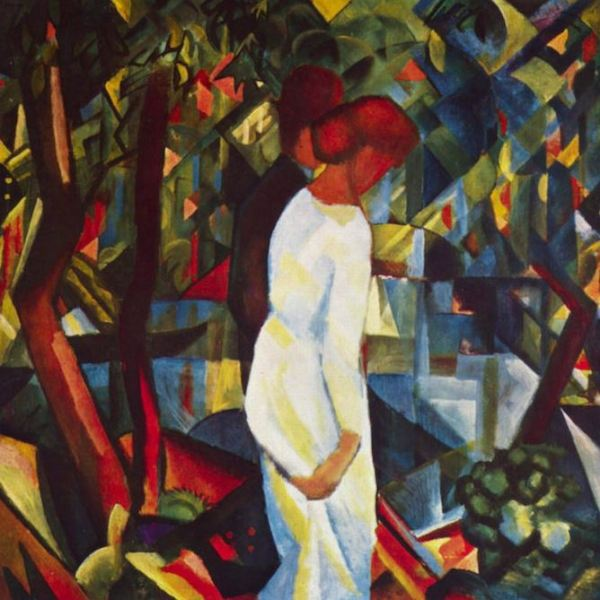 August Macke 'Couple in the Forest' (1912)