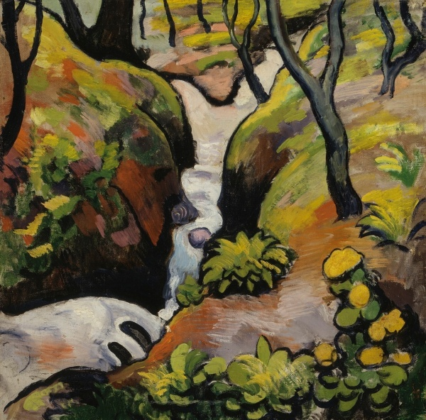 August Macke 'Forest Stream' (1910)