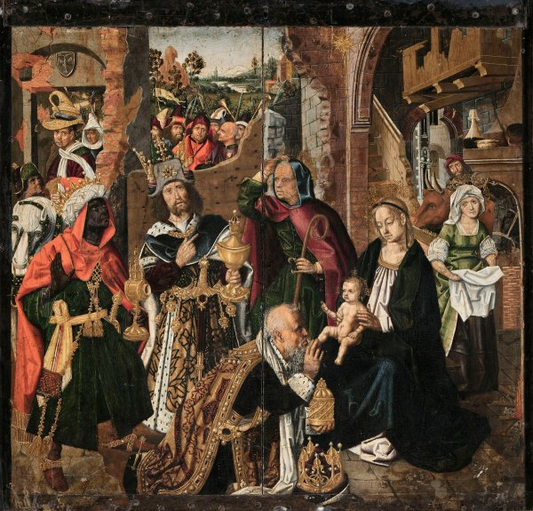 Bermejo 'Adoration of the Magi' (c.1500)