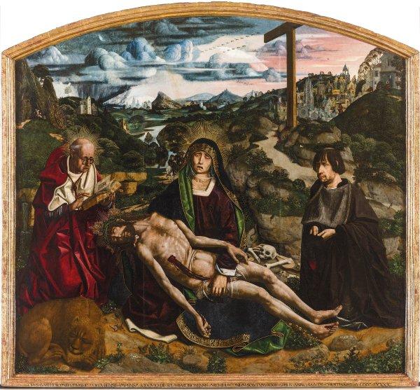 Bermejo 'Diespla Pieta' (1490)