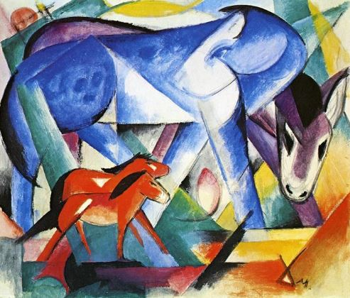 Franz Marc 'The First Animals' (1913)