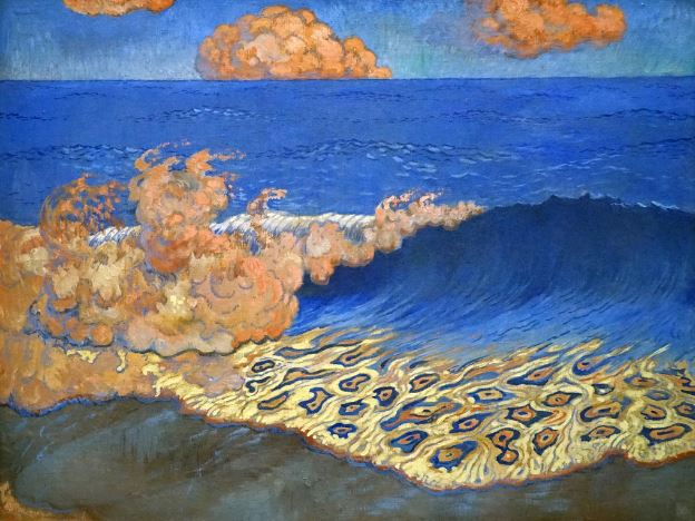 George Lacombe 'Marine Blue. The Effects of Waves' (c.1893)