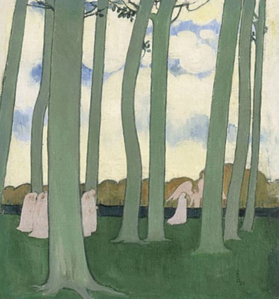 Maurice Denis 'Landscape with Green Trees' (1893)