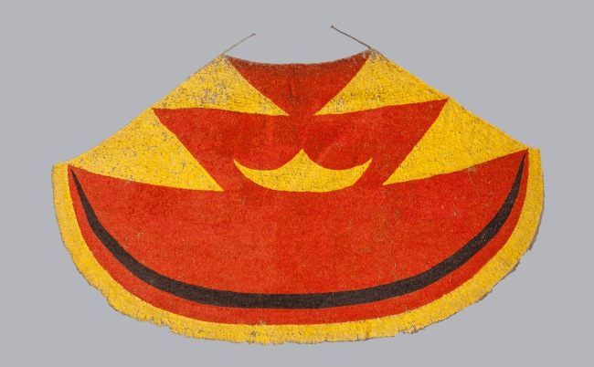 Oceania - 'Ahu ula' feather cloak (Hawaiian Islands, early 19th century)