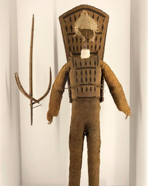 Oceania - 'Te otanga' armour (Kiribati, end 19th century)