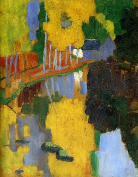 Paul Sérusier 'The Talisman' (1888)