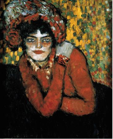 Picasso 'Waiting (Margo)' (1901)