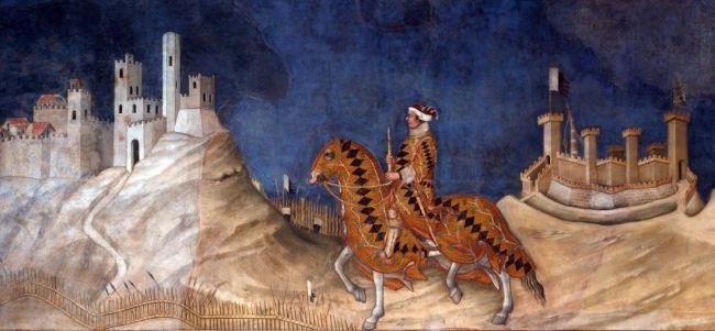 Simone Martini 'Guidoriccio da Fogliano' (1328)