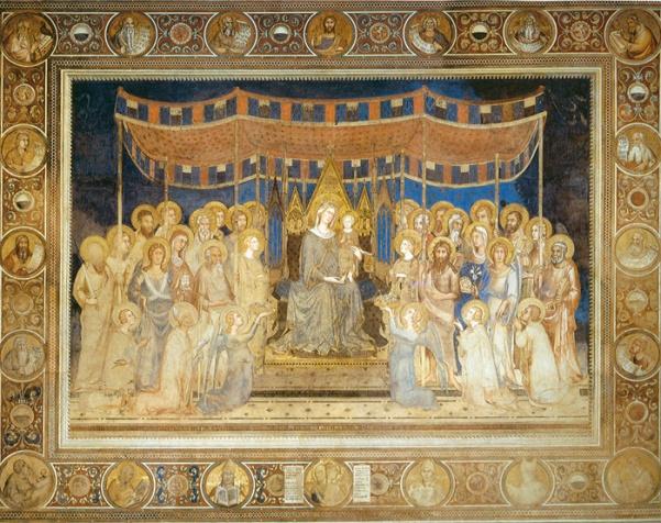 Simone Martini 'Maesta' (1312 - 15)