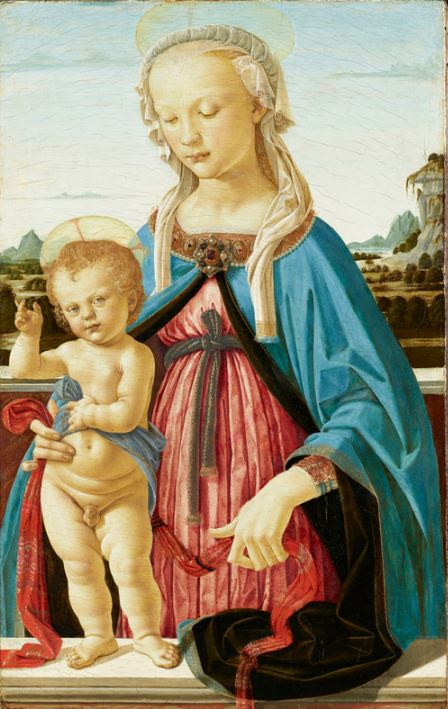 Verrocchio 'Madonna and Child' (c.1470)